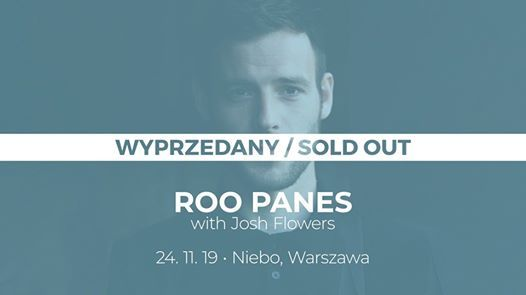 SOLD OUT Roo Panes 24.11  Niebo Warszawa