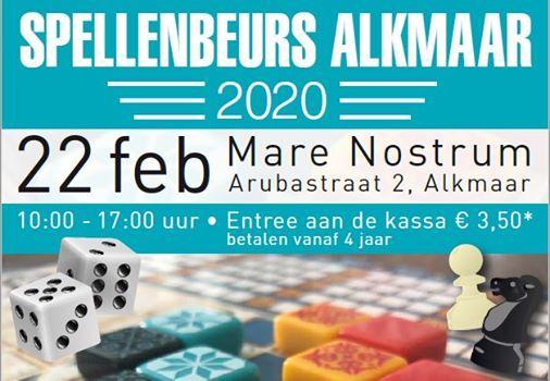 Spellenbeurs Alkmaar
