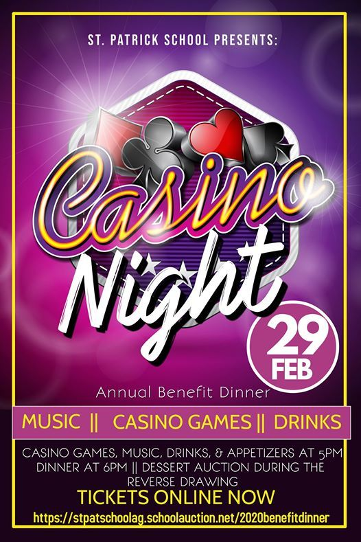 Benefit Dinner & Casino Night