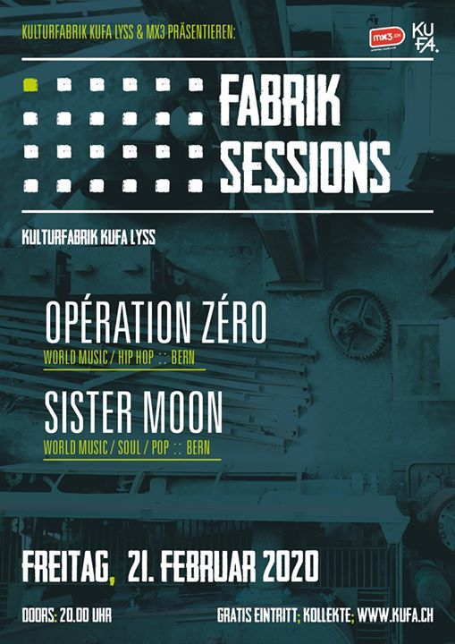 Fabrik Sessions Opration Zro  Sister Moon