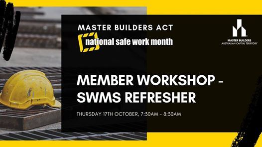 MBA Member Workshop - SWMS Refresher