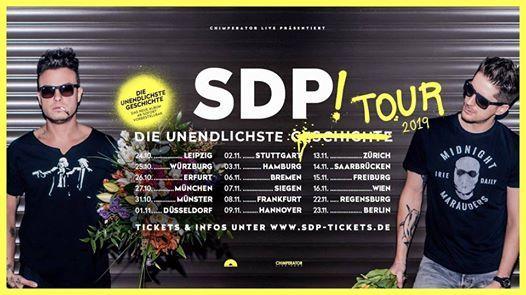 SDP - Die Unendlichste Tour 2019  Leipzig