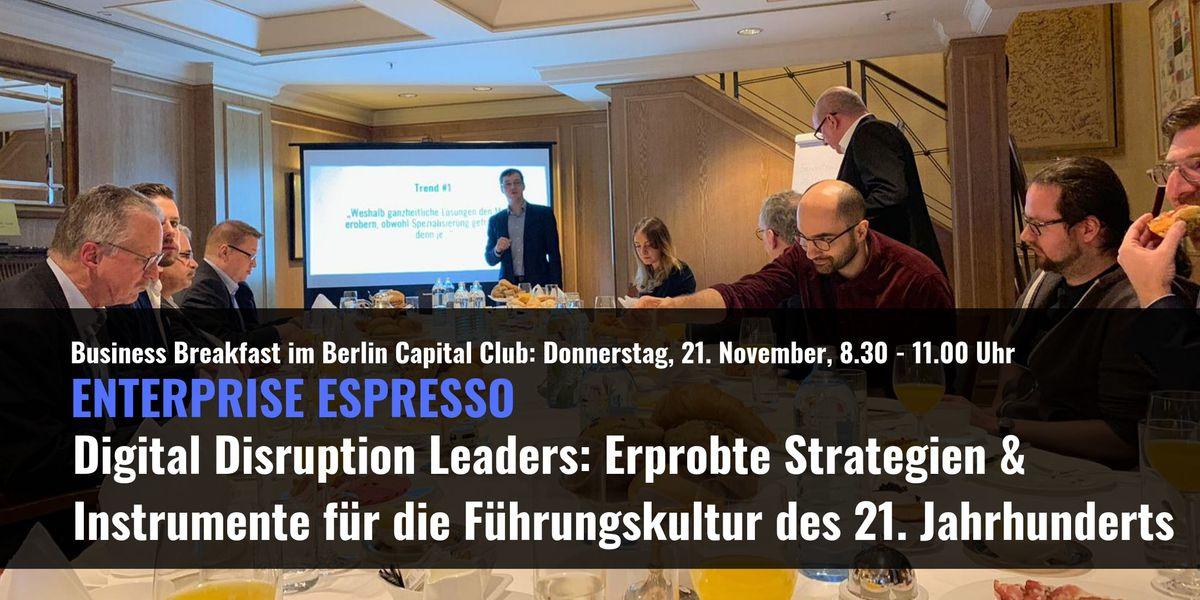 Digital Disruption Leaders Fhrungsinstrumente fr das 21. Jahrhundert