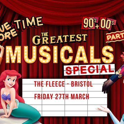 One More Time - 90s & 00s Party presents The Greatest Musicals Special