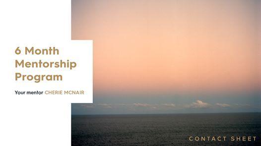 6 Month Photography Mentorship  Cherie McNair