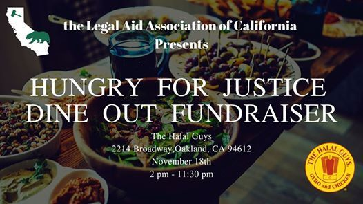 Eat at the Halal Guys & Support Free Legal Services in CA