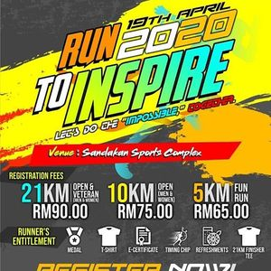Run To Inspire Half Marathon 2020