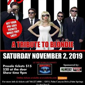 Tribute to Blondie Live on Stage at The Palm Canyon Roadhouse