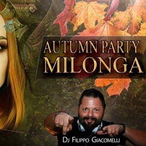 Autumn Party Milonga  Dj Filippo Giacomelli