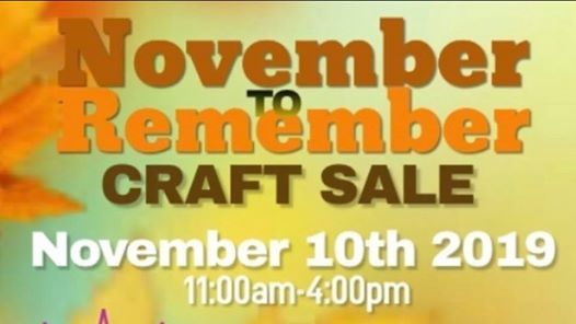 November To Remember Craftsale