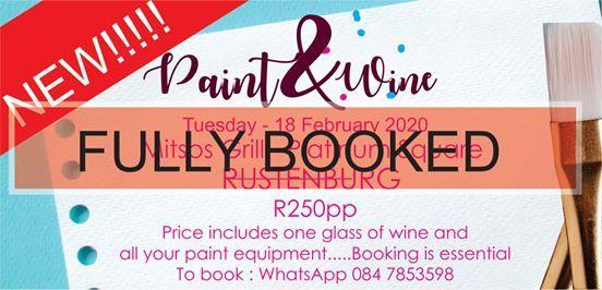 Paint and Wine Rustenburg