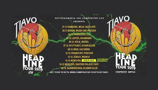 Tiavo  Headline Tour 2019  Leipzig