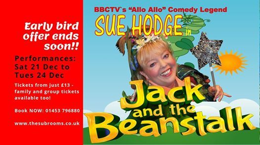 Jack and the Beanstalk - tickets selling out fast