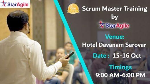 Certified Scrum Master (CSM) Training in Bangalore