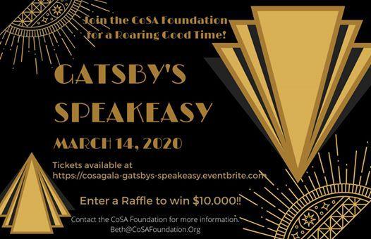 CoSA Gala - Gatsbys Speakeasy