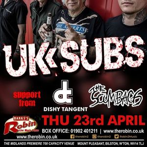 The Robin 2 presents UK SUBS ft Charlie Harper