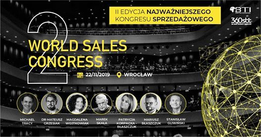 World Sales Congress -Maksimum Osigni Wrocaw BrianTracy