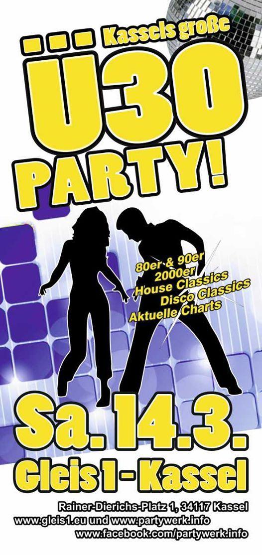 Kassels Groe 30-Party im Gleis 1