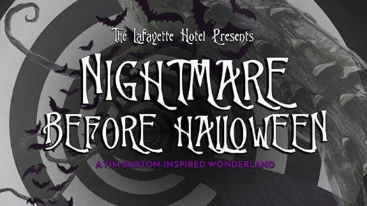 Lafayette Hotel Presents Nightmare Before Halloween