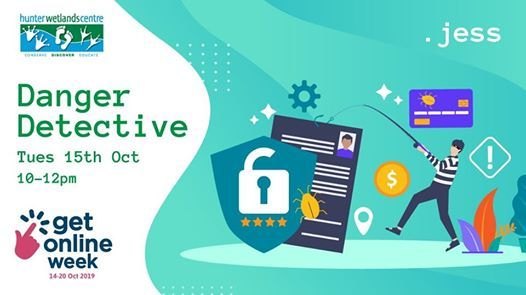 Danger Detective - Free Scam Awareness Workshop Get Online Week