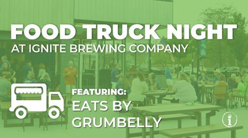 Eats By Grumbelly Inc Food Truck At Ignite Brewing Company