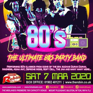 The Robin 2 presents Kick Up The 80s