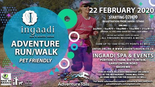 AdventureTails Ingaadi Spa AdventureRun