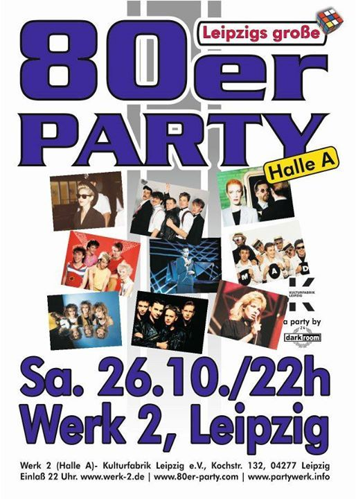 Leipzigs Groe 80er-Party im Werk 2