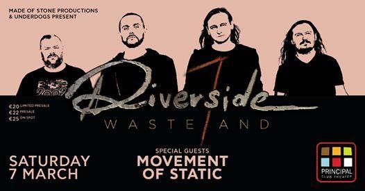 Riverside [PL] live in Thessaloniki