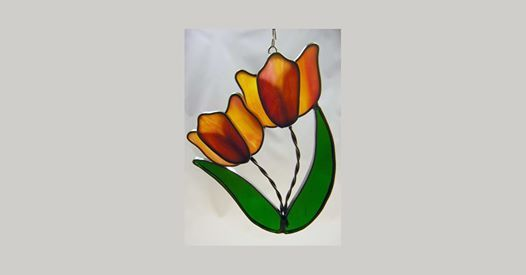 Project Lab Stained Glass Tulips
