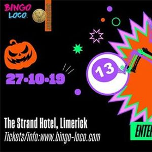 Bingo Loco Limerick - Sunday 27th Oct [Sold Out]