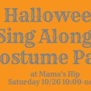 Halloween Sing Along and Costume Party