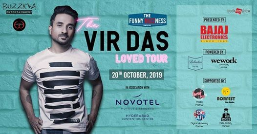 Funny Buzzness presents - Vir Das (The Loved Tour)
