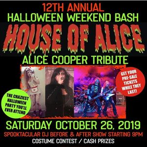 Alice Cooper Tribute Halloween Weekend at Palm Canyon Roadhouse
