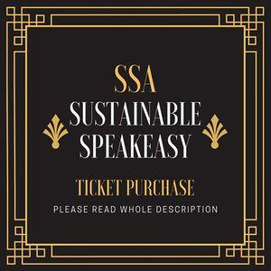 Sustainable Speakeasy