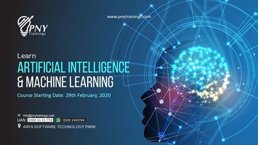 Learn Artificial Intelligence & Machine Learning - Arfa Tower