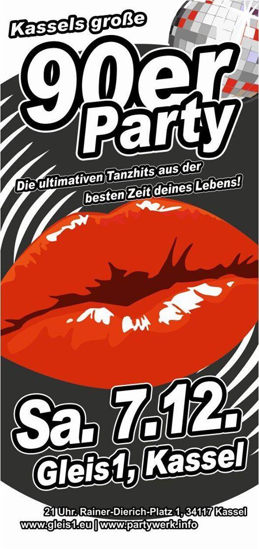Its my life Die groe 90er-Party im Gleis1