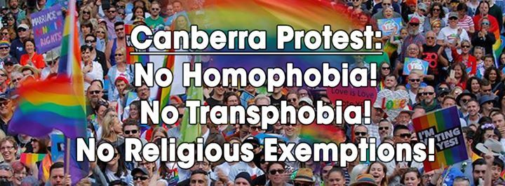 Protest Religious Exemptions Bill No Right to Discriminate