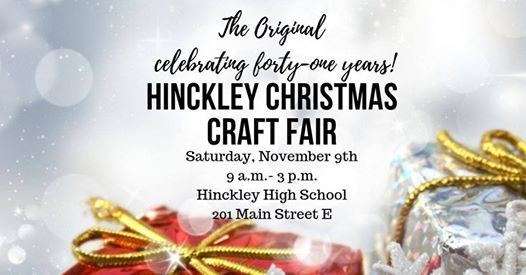 Hinckley Christmas Craft Fair Hinckley Finlayson Schools 9 November 2019
