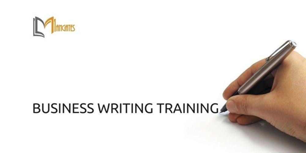 Business Writing 1 Day Virtual Live Training in Melbourne