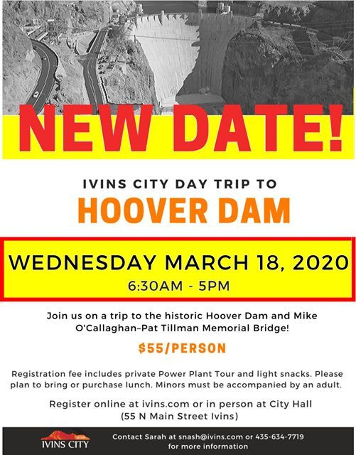 New DATE Day Trip to Hoover Dam