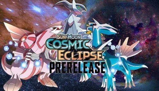 Nerd World Sun & Moon Cosmic Eclipse Prerelease