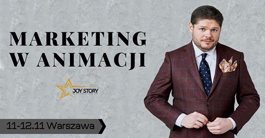 Marketing w Animacji - Warszawa 11-12 listopada