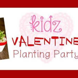 Kidz Valentine Planting Party