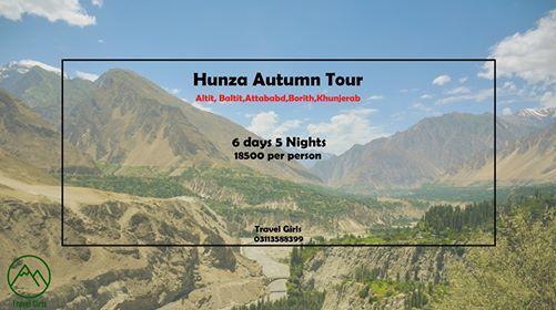 6 days Trip to Hunza Valley (Autumn treat)