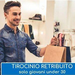 Tirocinio retribuito Shop Assistant (VE PD VI VR)