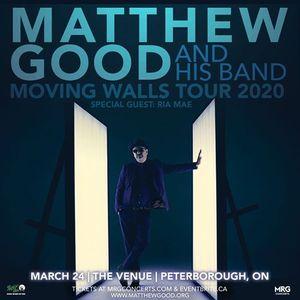Matthew Good - March 24 - The Venue