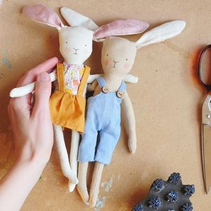 Bunnymouse dollmaking workshop with Hilary Jean Tapper