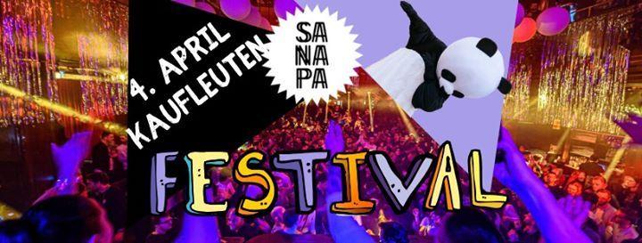 Sanapa April Festival im ganzen Kaufleuten