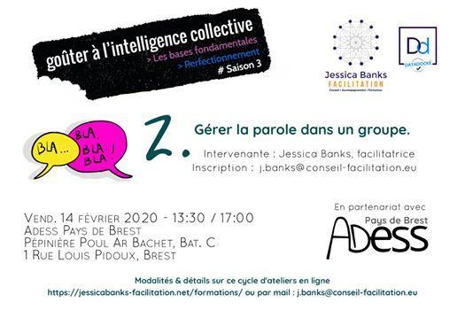 Intelligence Collective 2  Grer la parole dans un groupe